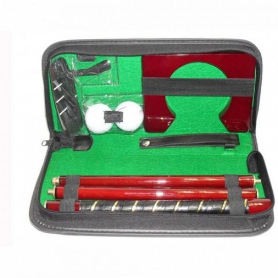Golf Leather Putter Set